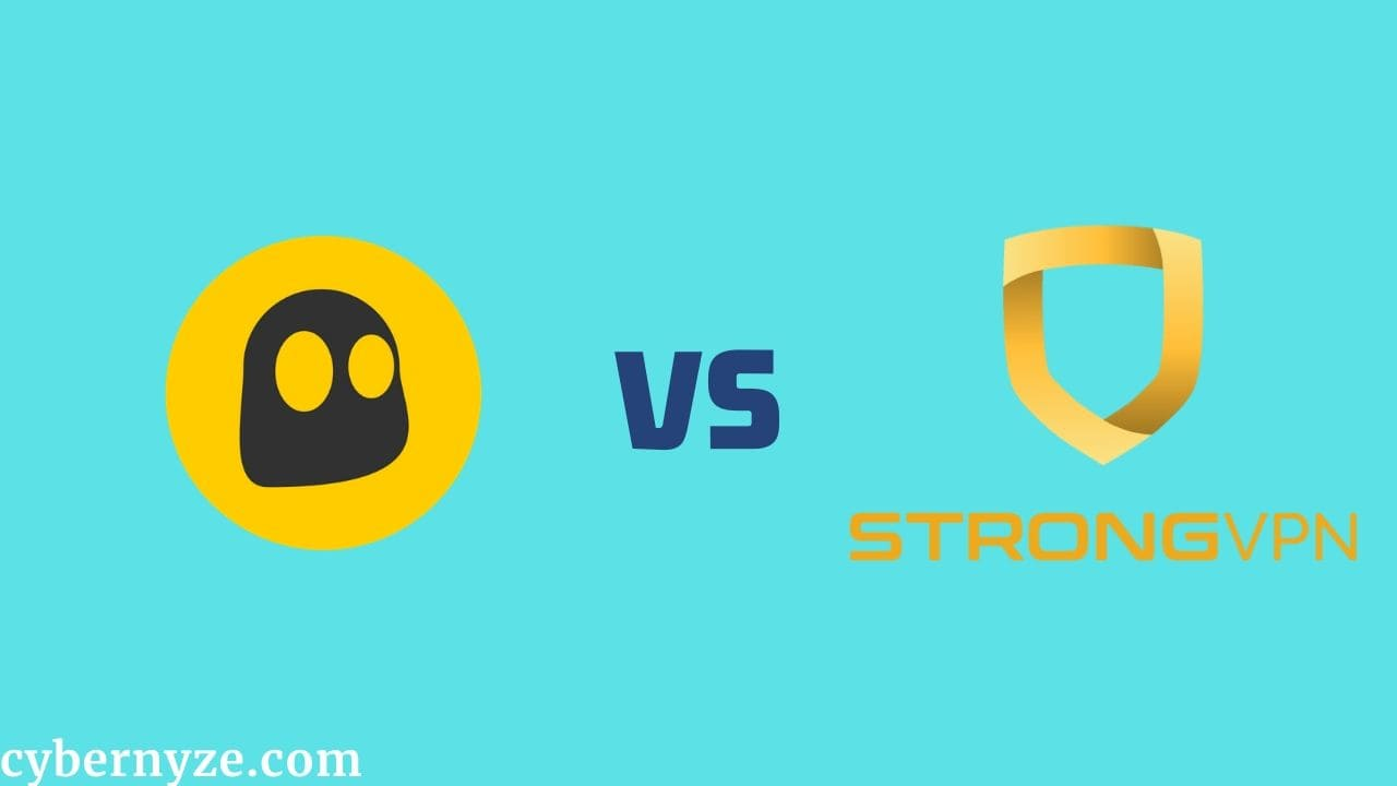 CyberGhost vs StrongVPN comparison