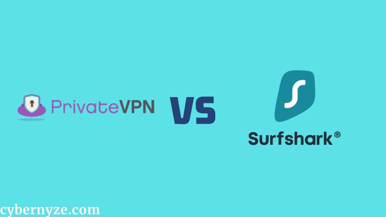 PrivateVPN vs Surfshark comparison